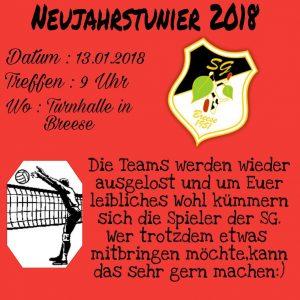 Neujahrsturnier 2018 @ Sporthalle Breese | Breese | Brandenburg | Deutschland
